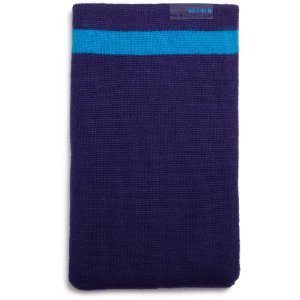 Husa Belkin Knit pentru Kindle Keyboard eBook Reader (albastra)