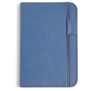 Coperta piele pentru Kindle eBook Reader (albastru)
