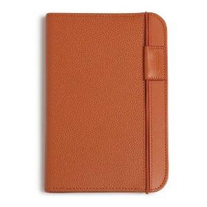 Coperta piele pentru Kindle eBook Reader (portocaliu)