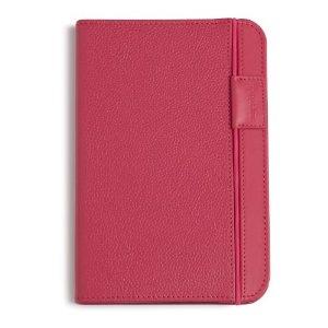 Coperta piele pentru Kindle eBook Reader (roz)