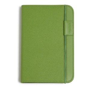 Coperta piele pentru Kindle eBook Reader (verde)