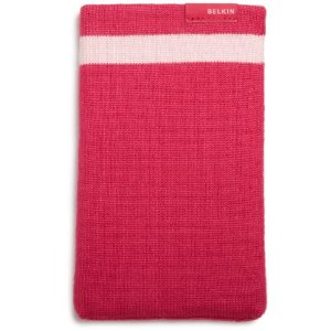 Husa Belkin Knit pentru Kindle Keyboard eBook Reader (rosie)