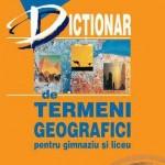Dictionar de termeni geografici pentru liceu