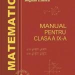 Matematica-manual pentru clasa a IX-a (Panaitopol)
