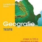Teste de geografie, clasa a VIII-a, semestrul al II-lea