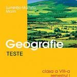 Teste de geografie, clasa a VIII-a, semestrul I