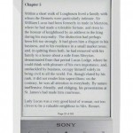 Sony PRS T1 - Reader Wi-Fi (alb)