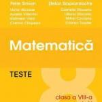 Teste de matematica, clasa a VIII-a, semestrul I