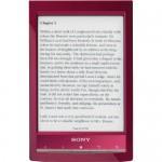 Sony PRS T1 - Reader Wi-Fi (rosu)